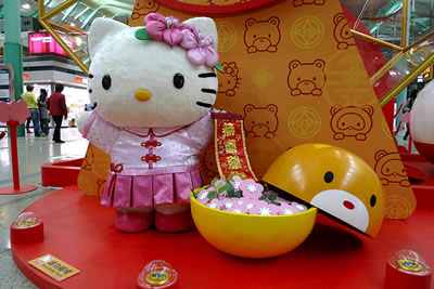 hello kitty chinese display 2