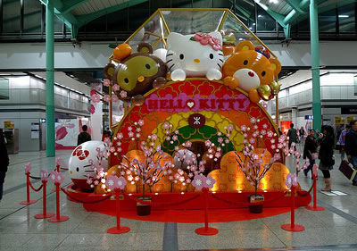 hello kitty chinese display 3