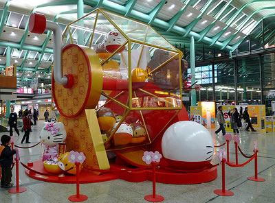 hello kitty chinese display 4