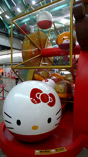 hello kitty chinese display 5