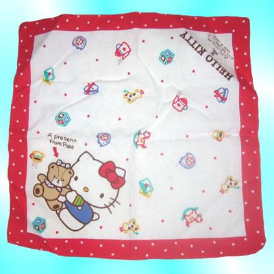 hello kitty handkerchief