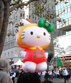 hello kitty parade balloon