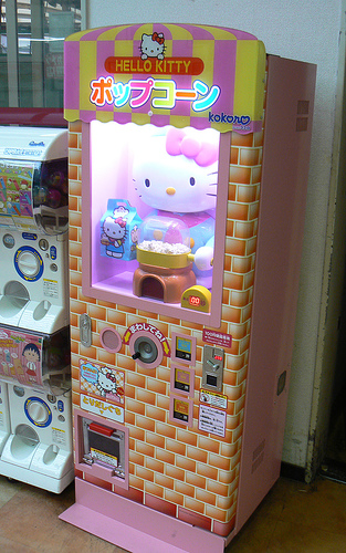 hello kitty popcorn machine