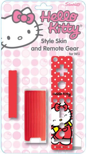 hello kitty wii remote cover