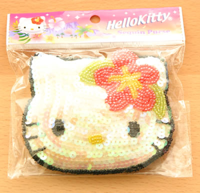 hello kitty sequin purse