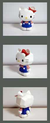 paper hello kitty doll craft