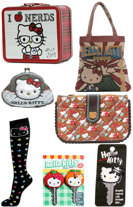 "My favourites were the Hello Kitty - ""I love nerds"" lunch box and the retro"