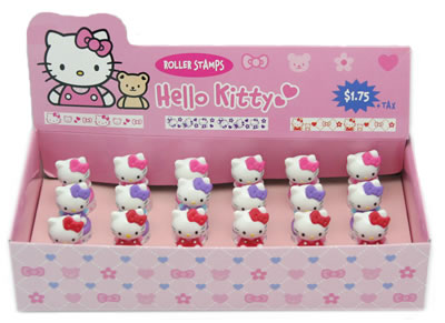 hello kitty product display - stamps