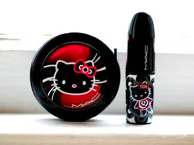 hello kitty mac cosmetics mkae-up