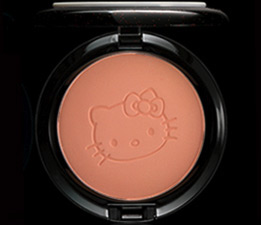 hello kitty mac cosmetics powder