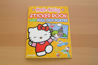 hello kitty sticker book cover