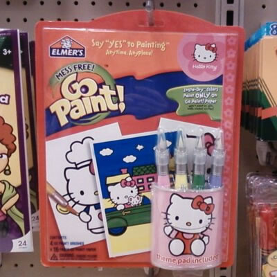 hello kitty go paint