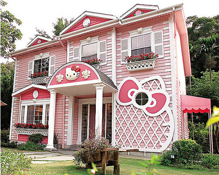 hello kitty villa in taipei