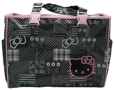 hello kitty baby bear diaper bag