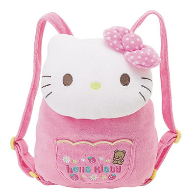 hello kitty baby bear toddler backpack