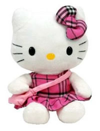 Hello Kitty Baby Plaid Tartan