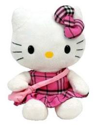 Hello Kitty Baby Plaid Tartan
