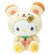 hello kitty bear plush with bee