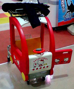 hello kitty cart