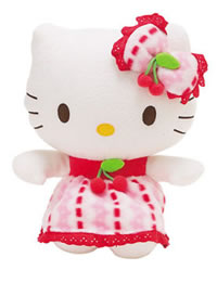 Hello Kitty Cherry Plush