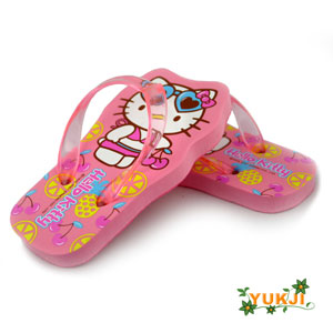 Hello Kitty Fruit Flip Flops