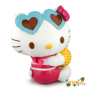 Hello Kitty Fruit Mascot Plush 6