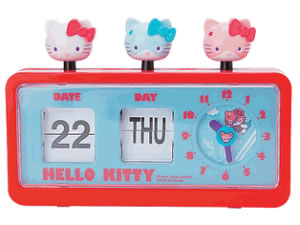 Hello Kitty Hero Clock