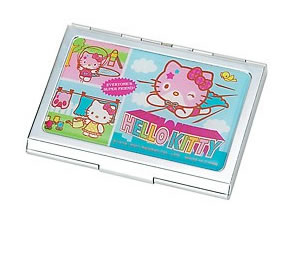 Hello Kitty Hero Name Card Case