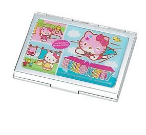 Hello Kitty Hero Name Card Case