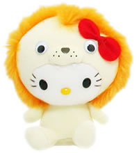 hello kitty lion plush