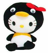 hello kitty penguin plush