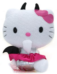 hello kitty plush little devil