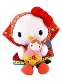 Hello Kitty Russian Plush