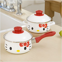 hello kitty pots