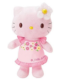 Hello Kitty Springtime Plush