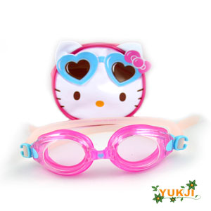 Hello Kitty Swimming Goggles Fruit Style