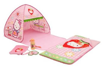 hello kitty tent and adventure set