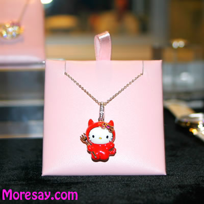 hello kitty trunk show 2009 devil pendant