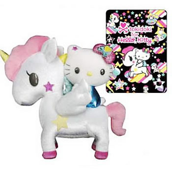 tokidoki for hello kitty dreamy collection plush unicono