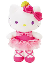Hello Kitty Ballerina Plush