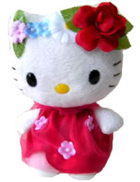 Hello Kitty Flower Fairy Plush