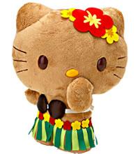 Hello Kitty Hawaiian Plush