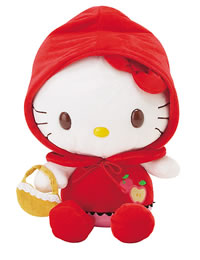 Hello Kitty Little Red Riding Hood Plush