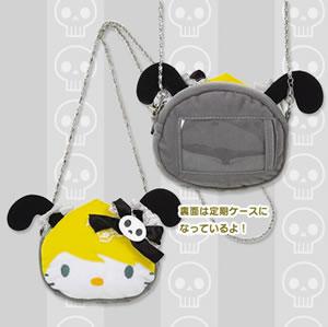 h. naoto x hello kitty coin purse