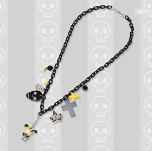h. naoto x hello kitty necklace