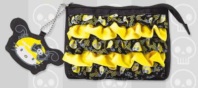 h. naoto x hello kitty purse