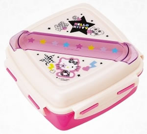 hello kitty back to school lunchbox star
