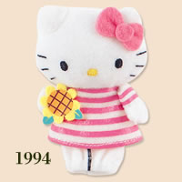 hello kitty finger puppet 1994