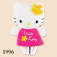 hello kitty finger puppet 1996