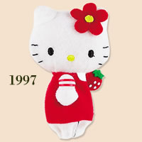 hello kitty finger puppet 1997